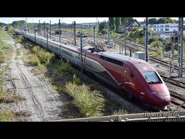 Thalys TGV PBKA - Rames n° 4343 et 43xx