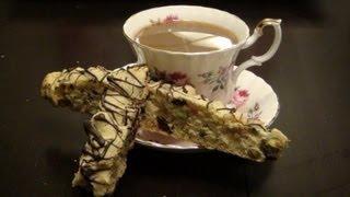 Xmas Baking: Cranberry Pistachio Biscotti