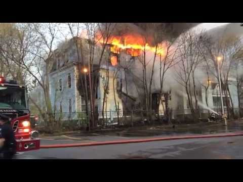 Sherman Square Apartments Fire. Glens Falls NY