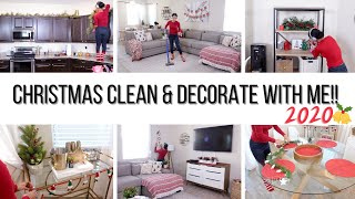 CLEAN & DECORATE WITH ME FOR CHRISTMAS 2020🎄// Jessica Tull cleaning motivation