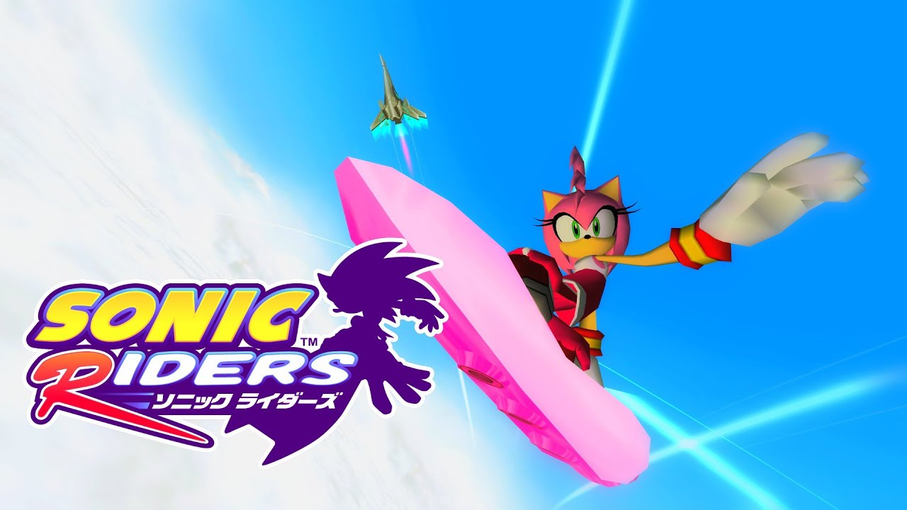 Sonic Wallpaper Hd 3d Sonic Riders Sky Road Amy Real Full Hd Widescreen