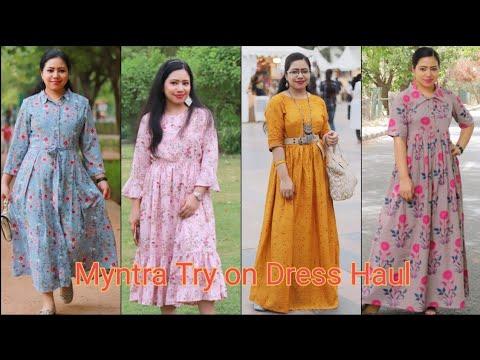 Myntra Dress haul| Affordable Myntra Haul|| Myntra midi & Maxi dresses | Best Myntra Haul