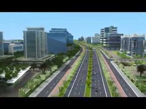 Super Corridor 3D walkthrough, Indore   YouTube