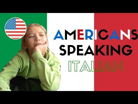 Americans Speaking Italian || GINEVRA IORIO