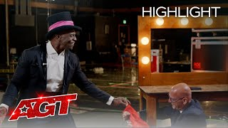 Mat Franco Teaches Terry Crews the Secrets to Being a Magician - America's Got Talent 2020