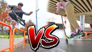 SCOOTER VS UNICYCLE