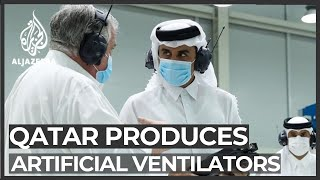 Qatar begins manufacturing ventilators amid coronavirus pandemic