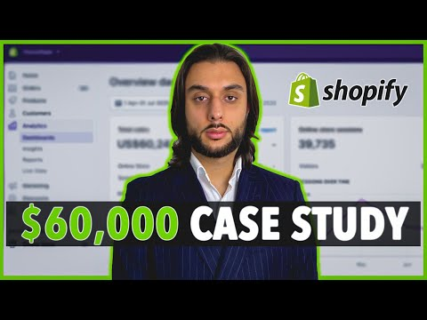 Shopify Case Study $0-$60,000 In 90 Days (Dropshipping & Facebook Ads)