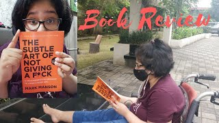 Book review: The subtle art of not giving a f*ck I what's the hype? Is it even good!?!? I #withme