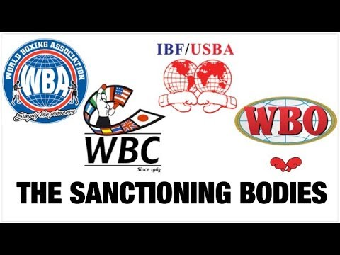 A Historical Look at the WBA, WBC, IBF and WBO (Professional Boxing)