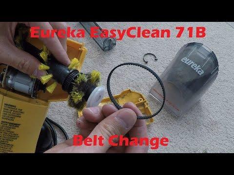 Tutorial: Eureka EasyClean 71B Belt Replacement