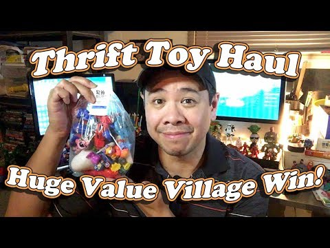 Thrift Store Toy Haul, Value Village Toys! March 8 2018