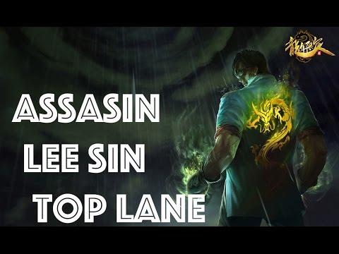 ASSASSIN LEE SIN TOP | Season 6 |League Of Legends