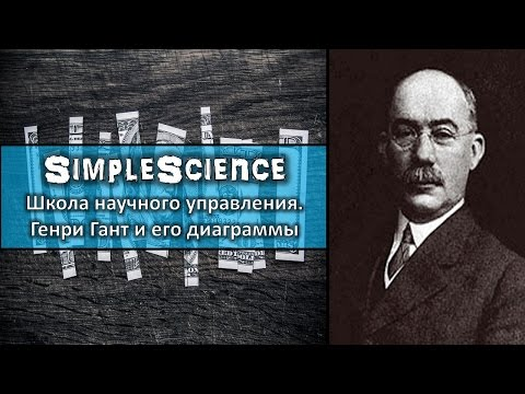 Школа научного управления. Генри Гант и его диаграммы.