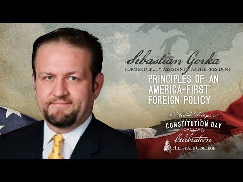 Sebastian Gorka - Principles of an America-First Foreign Pol