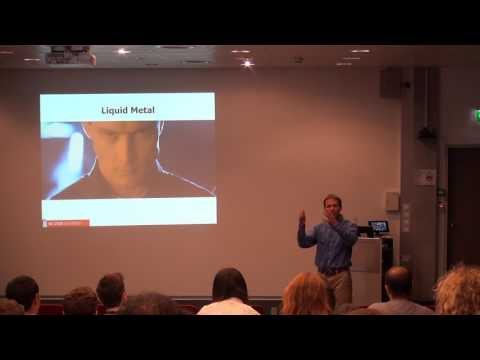 Prof. Michael Dickey: Soft, Stretchable, and Reconfigurable Materials for Electronics and Actuators