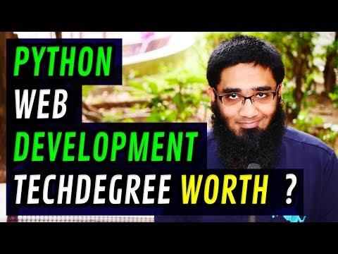 Python Web Development TechDegree Worth Doing ? [4K]