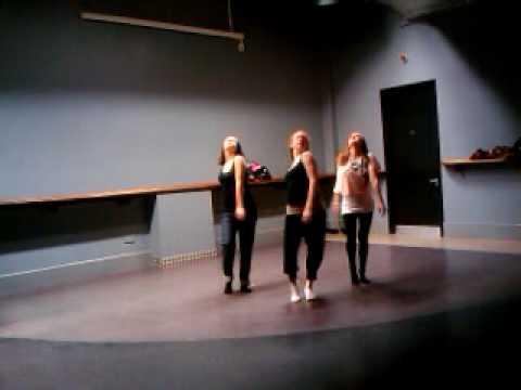 Lorna Allen fashion show rehearsal