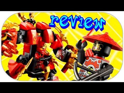 LEGO Kais Fire Mech 70500 LEGO Ninjago The Final Battle Review