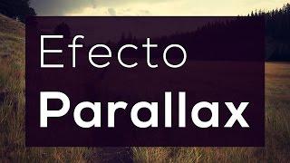 Como hacer efecto Parallax (sencillo) con HTML, CSS y JS