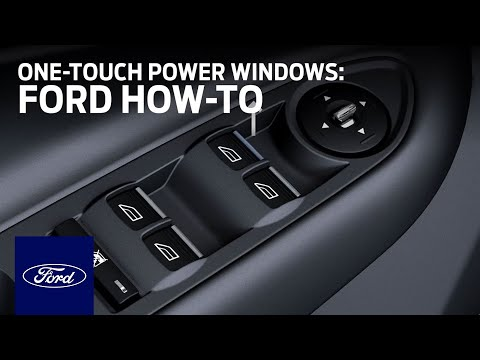 One-Touch Power Windows | Ford How-To | Ford