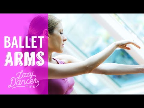 Beautiful Ballet Arms - 10 minute Standing Workout