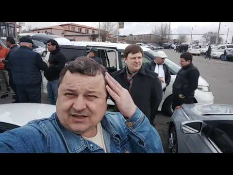 Автомитинг. Народная дипломатия. ОСА Ереван. Армения