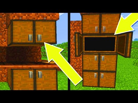 ✓ Minecraft Console Edition - How to Make Cabinets/Cupboards   (Ps3/Xbox360/PS4/XboxOne/WiiU)