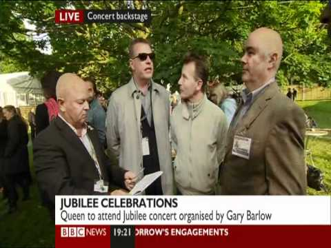 BBC News Interview with Suggs, Lee, Woody and Chris from Madness