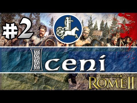 Total War: Rome 2 - Iceni - 2 - Cavalry in the flanks! |