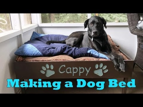 Dog Bed - Wassell Woodworking
