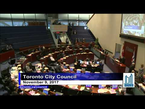 City Council - November 9, 2017 - Part 2 of 3 - Afternoon Session