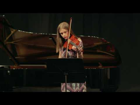 End-of-Year Student Concert 2018 – Sarah Webb, Viola