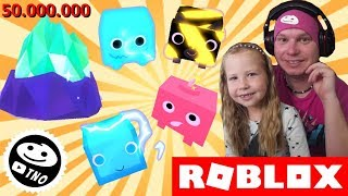 NEW CRITTERS from 50.000.000 EGG-Pet Simulator!   Roblox   Daddy and Barunka CZ/SK