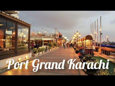 Port Grand Food Street  Karachi | Asim Gujjar Traveller