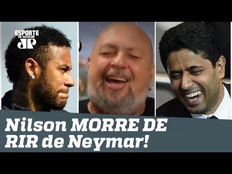 """Nilson Cesar MORRE DE RIR de Neymar: """"você vai continuar no PSG!"""""""
