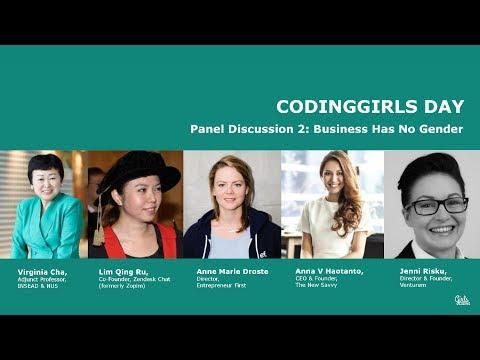 Panel: Business has No Gender - CodingGirls Day 2017