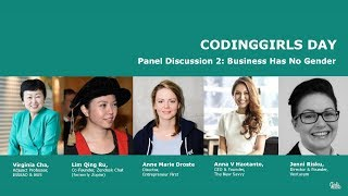 Panel: Business has No Gender - CodingGirls Day 2017