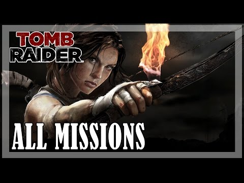 Tomb Raider - All missions   Full game walkthrough