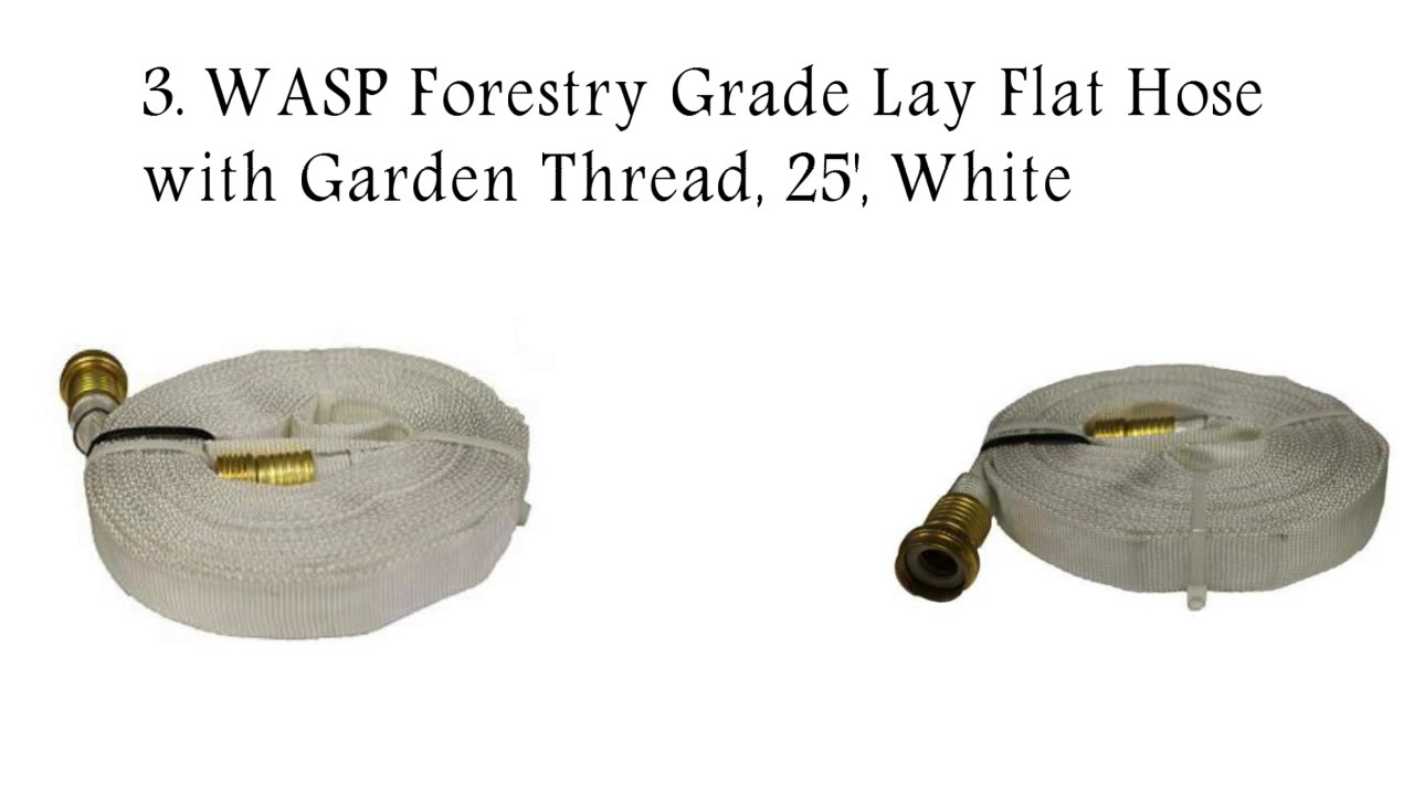 Flat Water Hose with Garden Thread 2018  sc 1 st  YouTube & Flat Water Hose with Garden Thread 2018 - YouTube