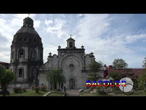 The church of Bacolor (Luzon - Philippines)