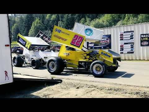 Coos Bay Speedway Sprint Car May 2018
