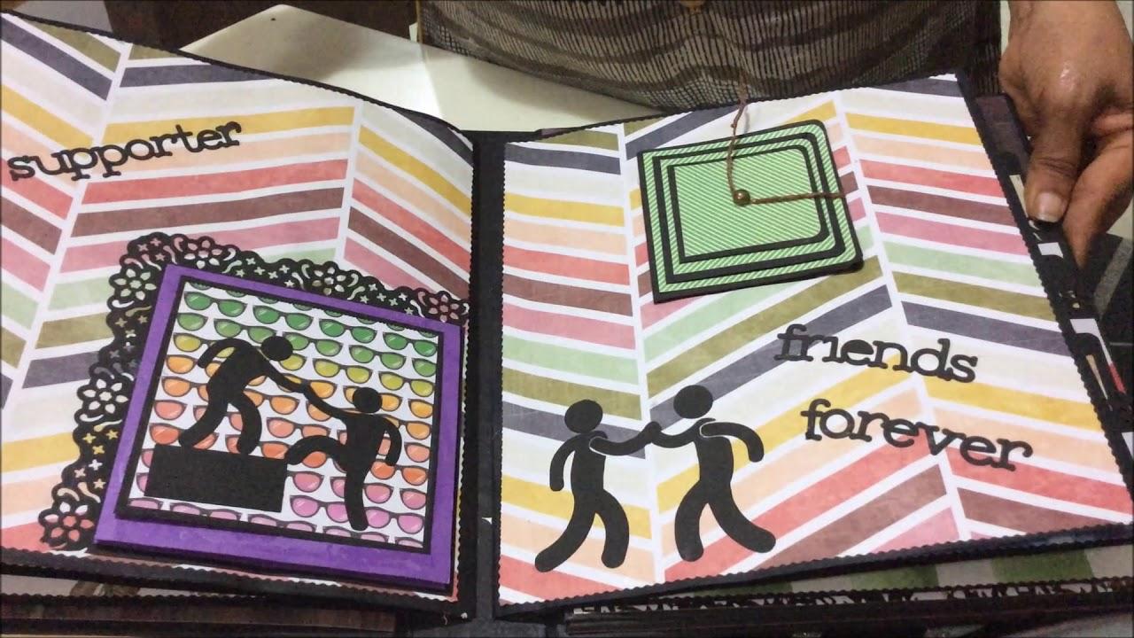 Diy Cutest Farewell Scrapbook Ideas Scrapbook Ideas For Friends