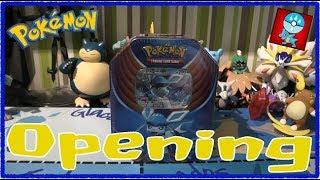 Pokemon TCG: Pokemon Tins: Evolutions Celebration: Glaceon GX Tin Opening