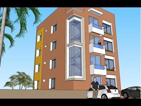 Planos de departamentos edificio de 4 niveles youtube for Departamentos minimalistas planos