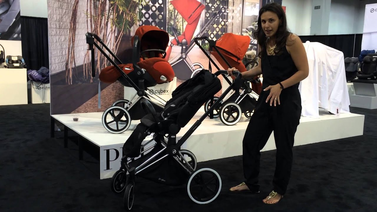 Introducing the new Cybex Priam Stroller! - Review - YouTube