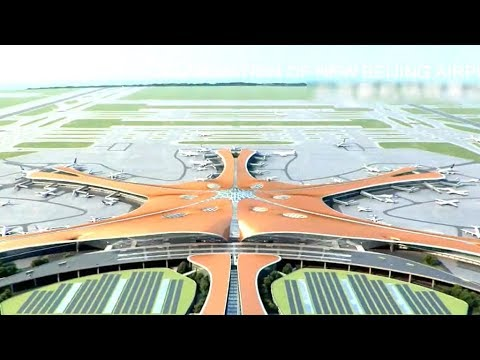Download Youtube: CGTN takes sneak peek at new Beijing Daxing International Airport