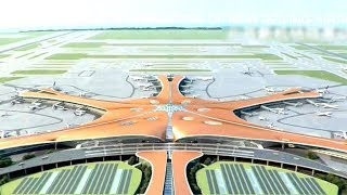 CGTN takes sneak peek at new Beijing Daxing International Airport