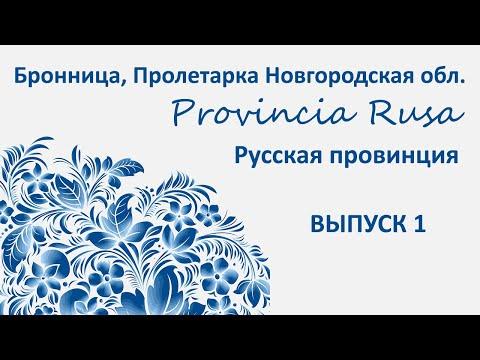 Бронница, Пролетарий, Новгородская обл. Provincia Rusa/Русская Провиниця, Выпуск I