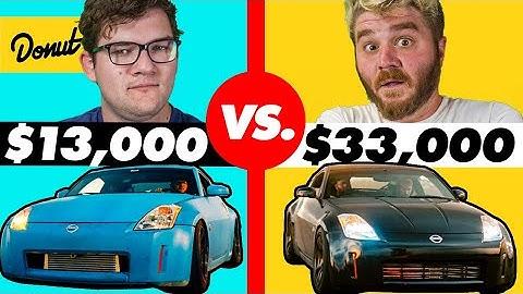 $13,000 Custom 350Z vs. $33,000 Custom 350Z | HiLow